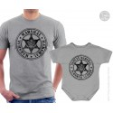 Marshal and Deputy Marshal Matching T-Shirt and Onesie