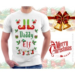 Daddy Elf T Shirt