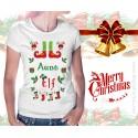 Aunt Elf Womens T-Shirt