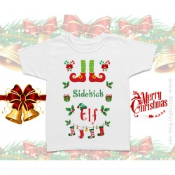 Sidekick Elf Kids T-Shirt