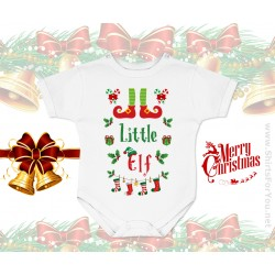 Little Elf Baby Onesie