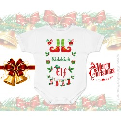 Sidekick Elf Baby Onesie