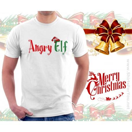 Angry Elf T Shirt