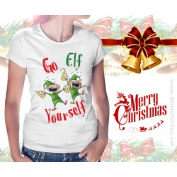 Go Elf Yourself Womens T-Shirt