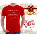 Be Nice To Me This Christmas Unisex T-Shirt