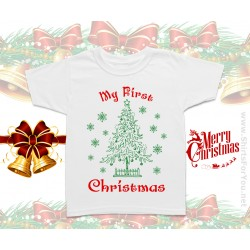 My First Christmas Kids T-Shirt