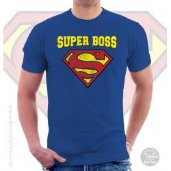 Superman Super Boss T Shirt