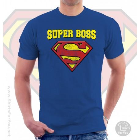 Superman Super Boss T Shirt