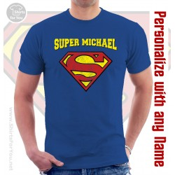Supermen Personalized T Shirt