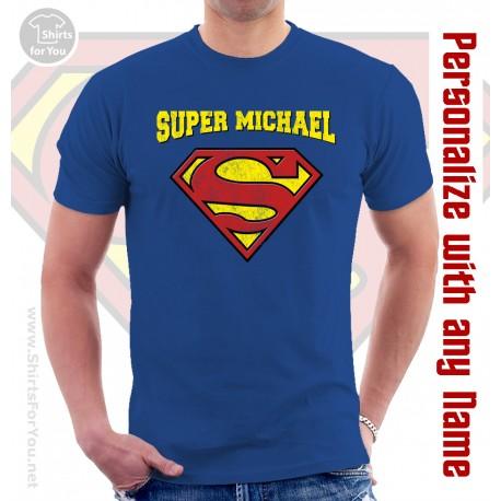 Supermen Personalized T Shirt