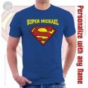 Supermen Personalized Unisex T-Shirt