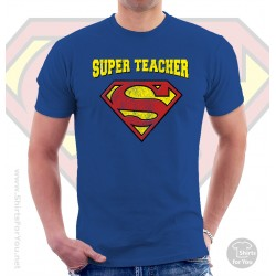 Superman Super Teacher T Shirt