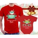 XMAS Monsters Matching T-Shirt and Onesie