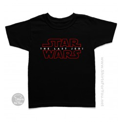 Star Wars The Last Jedi Kids T Shirt