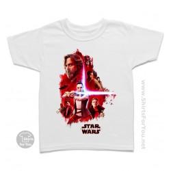 The Last Jedi Kids T Shirt