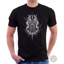 Black Panther T-Shirt, Panther Power 001