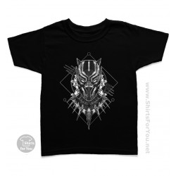Black Panther Kids T Shirt