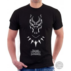 Black Panther T-Shirt, Panther Power 003