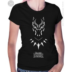 Black Panther Womens T-Shirt, Panther Power 003