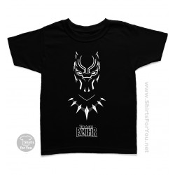 Black Panther Kids T Shirt, Panther Power 003