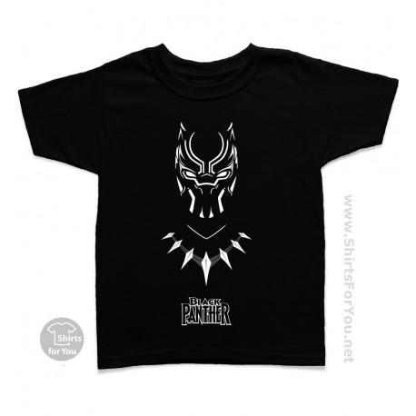 Black Panther Kids T Shirt, Panther Power 003