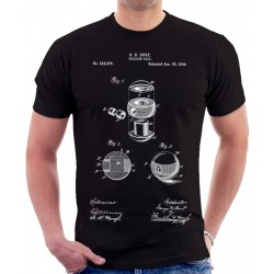 Billiard Ball 1894 Patent T Shirt