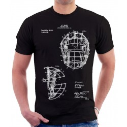 Baseball Mask 1911 Patent T Shirt