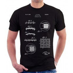 Tennis Ball 1934 Patent T Shirt