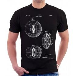 Soccer Ball 1928 Patent T Shirt