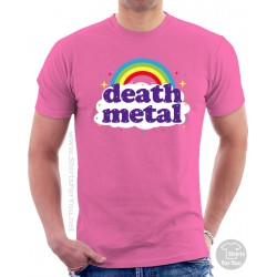 Funny Death Metal Rainbow T-Shirt