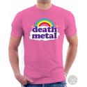 Funny Death Metal Rainbow T-Shirt