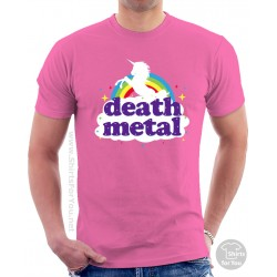 Funny Death Metal Unicorn T-Shirt