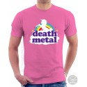 Funny Death Metal Unicorn T-Shirt, Death Metal Rainbow T-Shirt