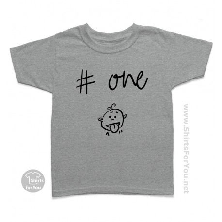Kid Number One Kids T Shirt, I Was Normal 2 Kids Ago T-Shirt