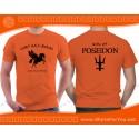 Son of Poseidon T Shirt, Camp Half-Blood T Shirt