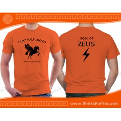 Son of Zeus T Shirt, Camp Half-Blood T Shirt