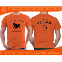 Son of Artemis T Shirt, Camp Half-Blood T Shirt