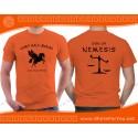 Son of Nemesis T Shirt, Camp Half-Blood T Shirt