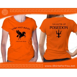 Daughter of Poseidon T Shirt, Camp Half-Blood T Shirt
