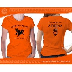 Daughter of Athena T Shirt, Camp Half-Blood T Shirt