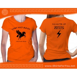Daughter of Zeus T Shirt, Camp Half-Blood T Shirt