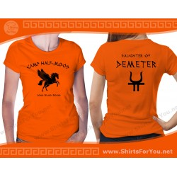 Daughter of Demeter T Shirt, Camp Half-Blood T Shirt