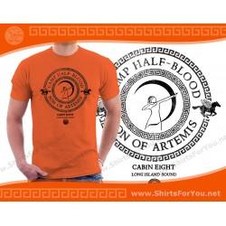 Son of Artemis T Shirt, Cabin 8