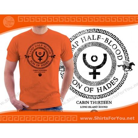 Son of Hades T Shirt, Cabin 13
