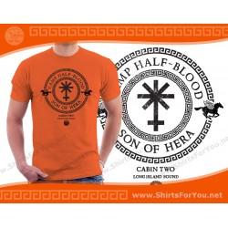 Son of Hera T Shirt, Cabin 2