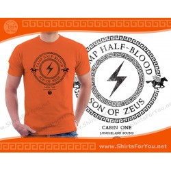 Son of Zeus T Shirt, Cabin 1