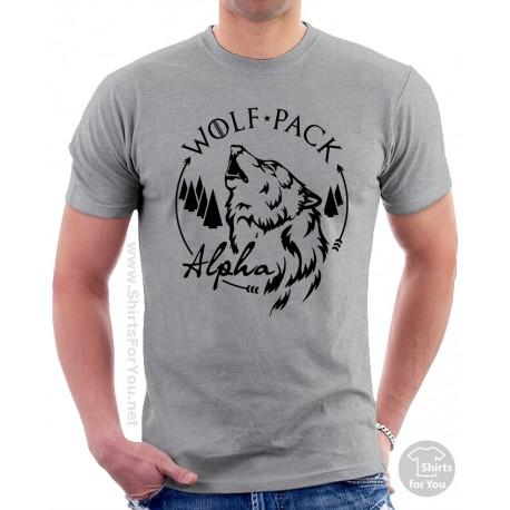 Alpha Wolf, Wolf Pack Matching T-Shirts