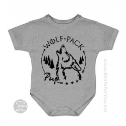 Pup Onesie, Wolf Pack Matching T-Shirts