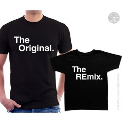 The Original and The Remix Shirts Matching T-Shirts