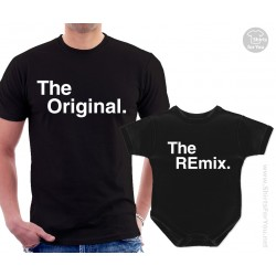 The Original and The Remix Matching T-Shirt and Onesie